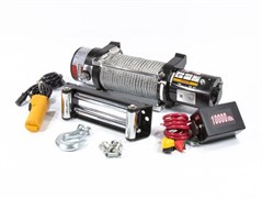 Автомобильная электрическая лебедка Denzel 4,5 т 520505