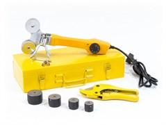 Аппарат для сварки пластиковых труб Denzel D WP-750, 4 насадки 94203