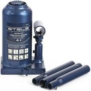 Телескопический гидравлический бутылочный домкрат Stels 4 т 51116