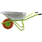 Садово-строительная тачка Сибртех с полиуретановым колесом, 180 кг, 90 л 689685