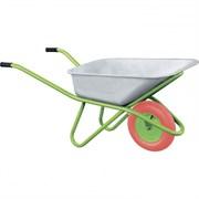 Садово-строительная тачка Сибртех с PU колесом, 180 кг, 90 л 68968