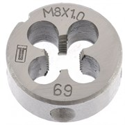 Плашка Сибртех М8x1 мм 77019
