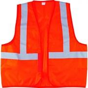 Оранжевый сигнальный жилет Сибртех размер XXL 89514