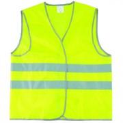Желтый сигнальный жилет Сибртех размер XL 89515