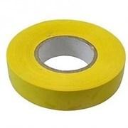 Желтая изолента ПВХ Сибртех 15 мм x 10м 88790