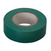 Зеленая изолента ПВХ Сибртех 19 мм x 20м 88797