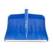 Синяя снеговая лопата Сибртех 400x420 мм, без черенка 61618