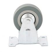 Неповоротное колесо Сибртех D 100 мм 68709