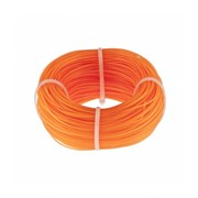 Оранжевая строительная леска Сибртех 100 м х 1 мм 84838