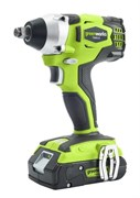Аккумуляторный ударный гайковерт Greenworks GD24IW 3801507