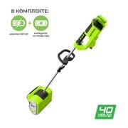 Аккумуляторный снегоуборщик Greenworks GD40SSK4 2600807UB