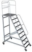 Передвижная лестница с платформой ЛСА-5,0