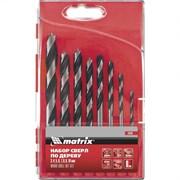 Набор сверл по дереву Matrix 3-4-5-6-7-8-9-10 мм 8 шт 70285