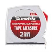Рулетка Matrix Chrom 2 м x 13 мм 31032