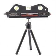 Лазерный уровень Matrix 170 мм, 3 глазка 35020