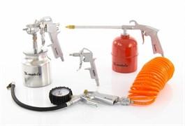 Набор пневмоинструмента Matrix 5 предметов 57302