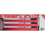 Полотна для электролобзика Matrix HCS по дереву 90x4 мм, 3 шт 78142