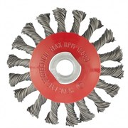Щетка для УШМ Matrix тарелка 100 мм, М14 74609