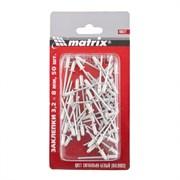 Заклепки Matrix RAL 9003 3,2x8 мм, сигнально-белые, 50 шт 40672