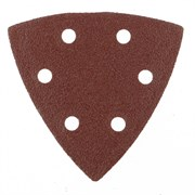 Перфорированный абразивный треугольник Matrix P 80, 93 мм, 5 шт 73859