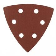 Перфорированный абразивный треугольник Matrix P 180, 93 мм, 5 шт 73864