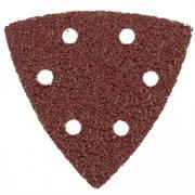 Перфорированный абразивный треугольник Matrix P 400, 93 мм, 5 шт 73868