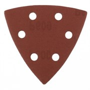 Перфорированный абразивный треугольник Matrix P 600, 93 мм, 5 шт 73869
