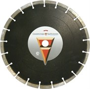 Сегментный алмазный диск Сплитстоун Standard 1A1RSS 500x40x3,6x9,5+0,5x25,4x32
