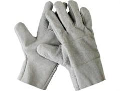 Кожаные спилковые перчатки Сибин 1134-XL