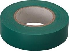 Зеленая изолента Сибин ПВХ 10м х 15мм 1235-4