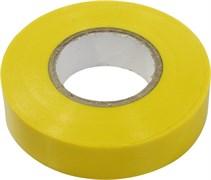 Желтая изолента Сибин ПВХ 10м х 15мм 1235-5