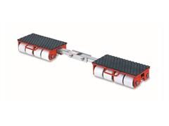 Подкатная роликовая платформа TOR Y18 г/п 18 т