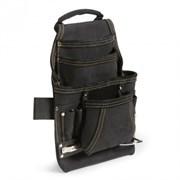 Поясная кожаная сумка КВТ СК-10