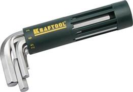 Набор коротких имбусовых ключей Kraftool Expert Hex 2-10 мм, 8шт 27430-1_z01