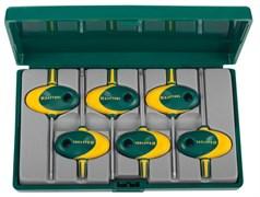 Набор коротких имбусовых ключей Kraftool Expert Torx T6-T20, 6шт 27440-H6