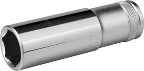 """Удлиненная торцевая головка Kraftool Industrie Qualitat Flank 1/2"""", 19 мм 27807-19_z01"""