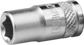 "Торцевая головка Kraftool Industrie Qualitat Flank 1/4"", 6 мм 27815-06_z01"