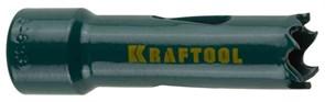 Универсальная биметаллическая коронка Kraftool Expert 19мм 29521-019