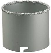 Кольцевая коронка с карбид-вольфрамовой крошкой Kraftool Expert 83мм 33401-83