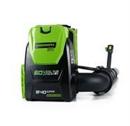 Аккумуляторный воздуходув Greenworks GD60BPB 2402307