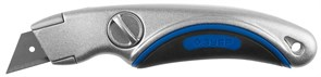 Нож Зубр Эксперт с трапециевидным лезвием тип А24 09221