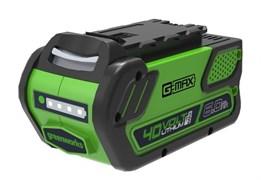 Аккумулятор GreenWorks G40B6 2923307      40V, 6 А.ч