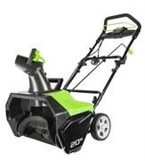 Электрический снегоуборщик Greenworks GES13 2600507