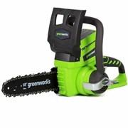 Аккумуляторная цепная пила Greenworks G24CS25 2000007
