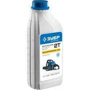 Полусинтетическое масло для двухтактных двигателей Зубр Эксперт 1л ЗМД-2Т-П