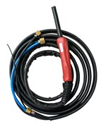 Горелка Aurora TIG 25 250A (100%) M12x1, газ 1/4G, вода 3/8G, 4m-с упр. разъемами 2-3-5 рin