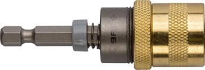Магнитный адаптер для бит Зубр Эксперт с ограничителем глубины 60мм 26753-60