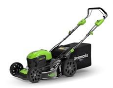 Аккумуляторная самоходная газонокосилка Greenworks GD40LM46 2506807UF