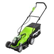Аккумуляторная газонокосилка Greenworks G40LM35 2501907