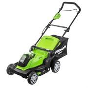 Аккумуляторная газонокосилка Greenworks G40LM41K6 2504707UF